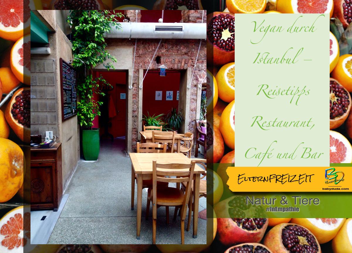 Reisetipps Türkei Istanbul Grüne Restaurants - Zencefil