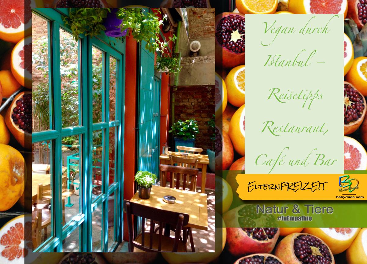 Reisetipps Türkei Istanbul gesunde Restaurants - Zencefil