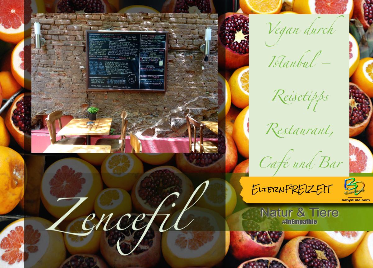 Reisetipps Türkei Vegane Restaurants in Istanbul - Zencefil