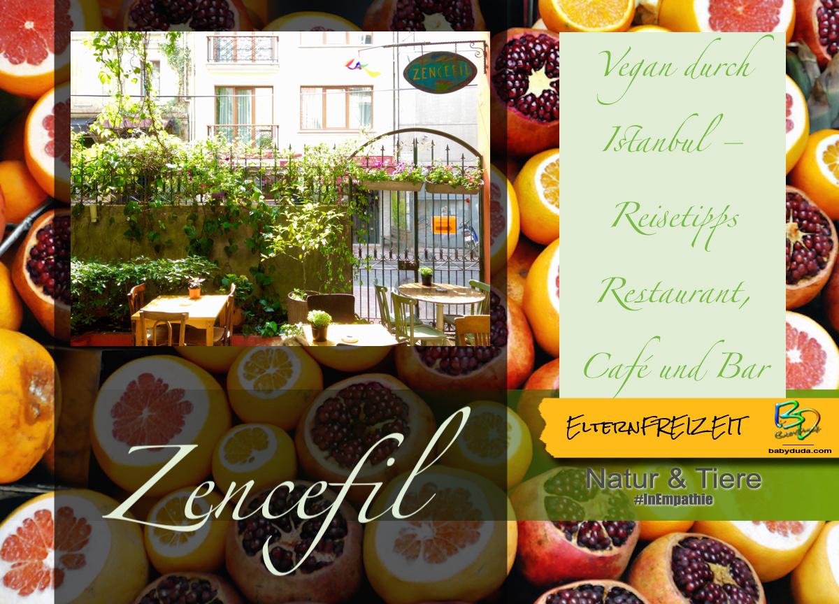Reisetipps Türkei Vegan durch Istanbul - Zencefil