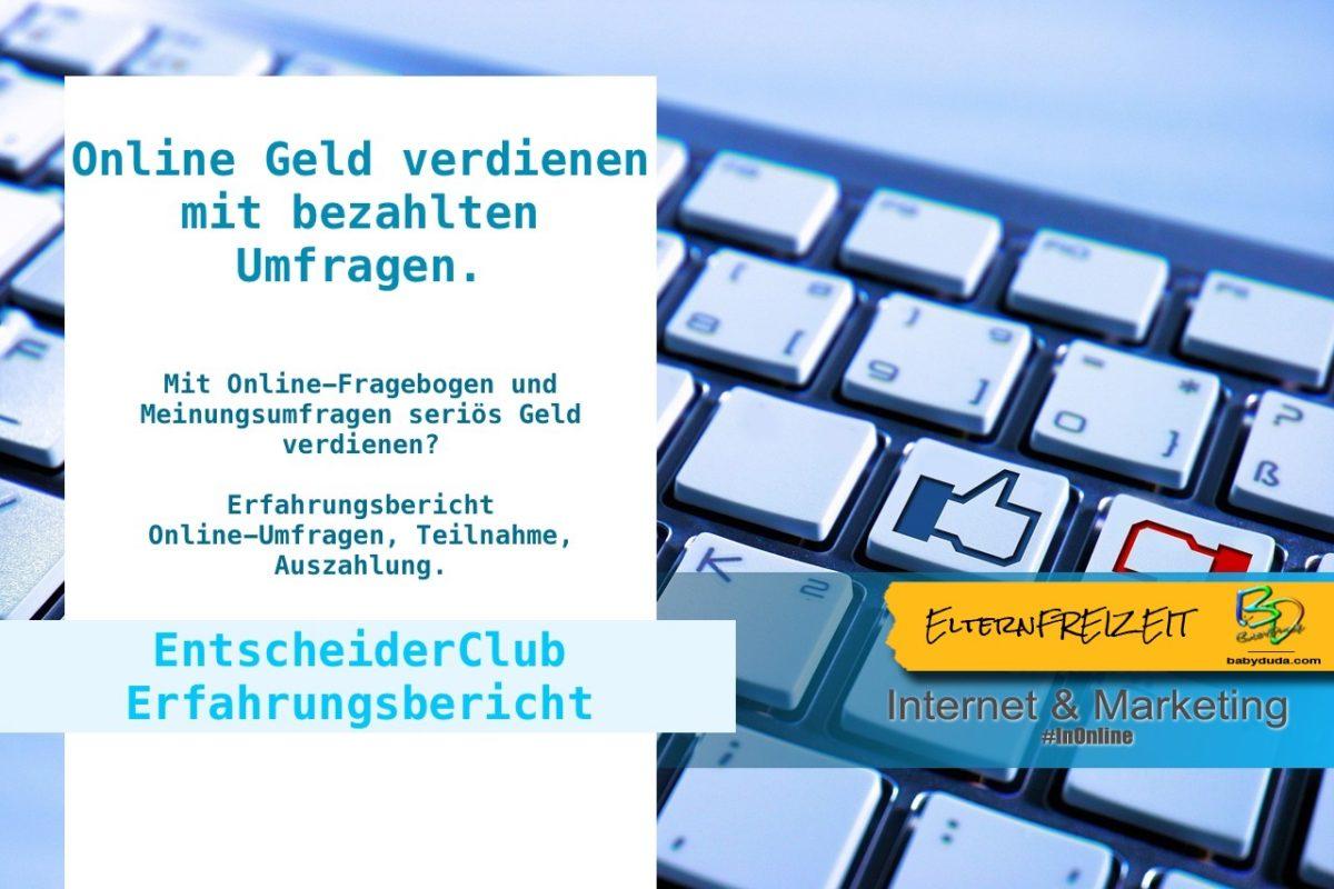 Erfahrungen Umfragetest Mit Online Umfragen Geld Verdienen Osterreich