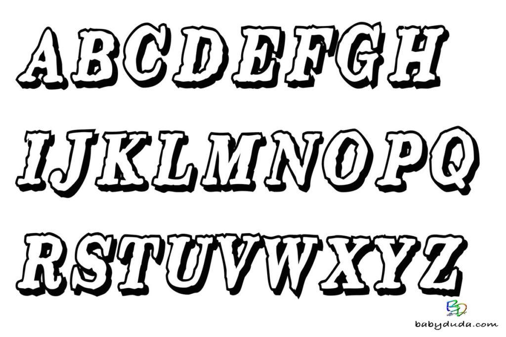 Niedlich Alphabet Ausdrucke Zeitgenössisch - Druckbare Malvorlagen ...