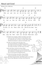 Hänsel Und Gretel Liedtext