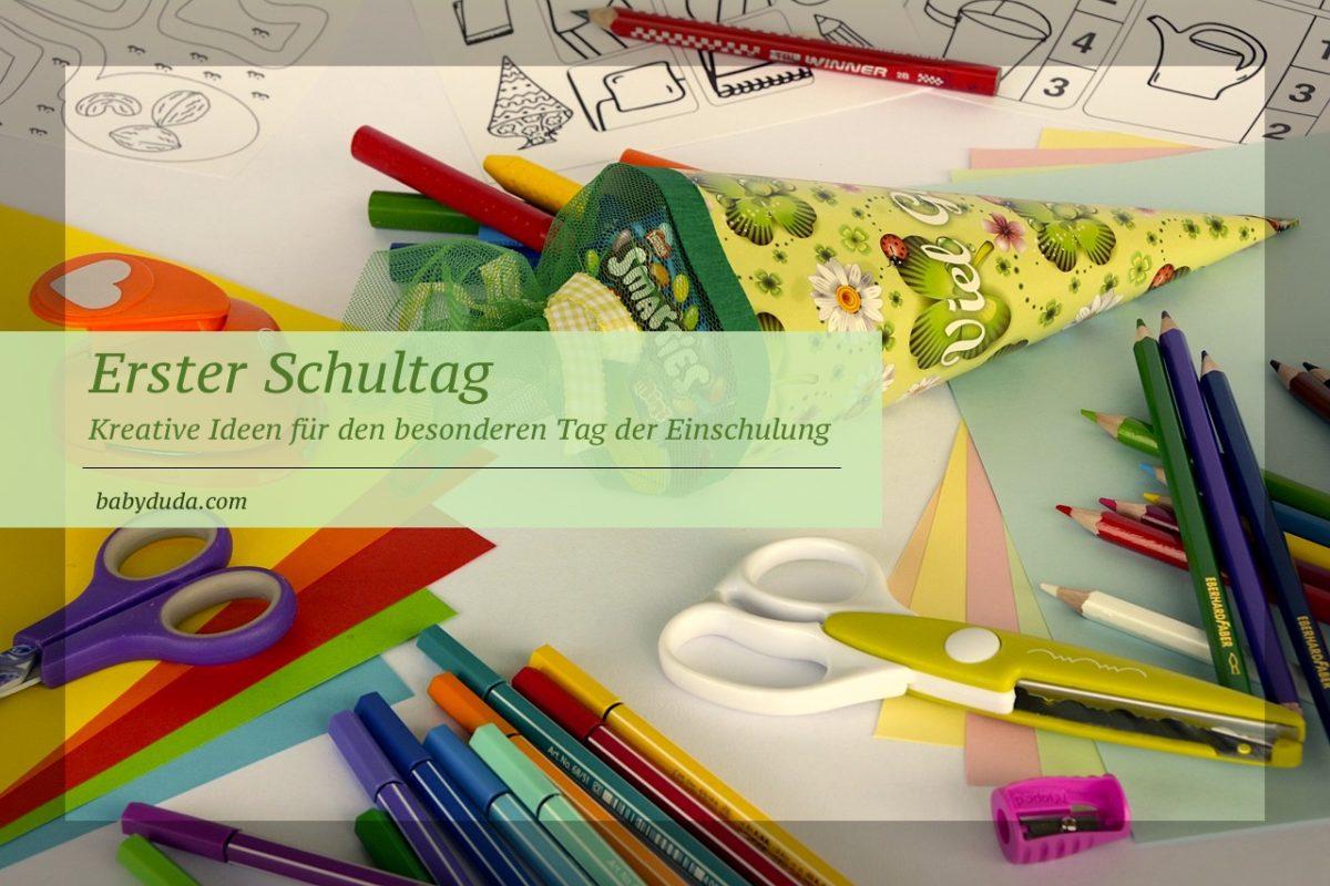 Erster Schultag - Tolle Einschulung feiern mit Ideen & Tipps ...
