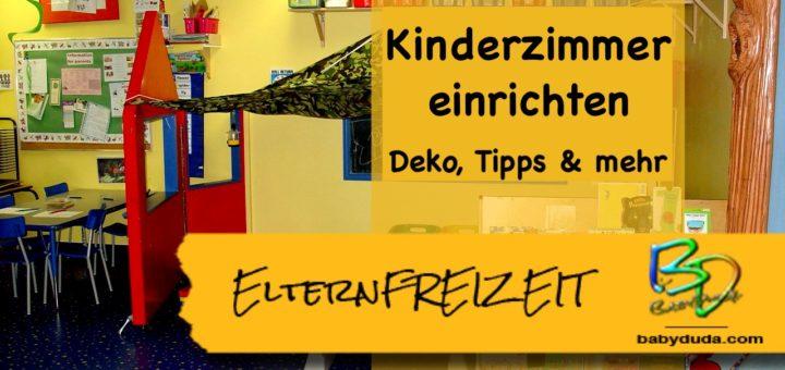 Kinderzimmer einrichten - Deko, Tipps und mehr » BabyDuda ...