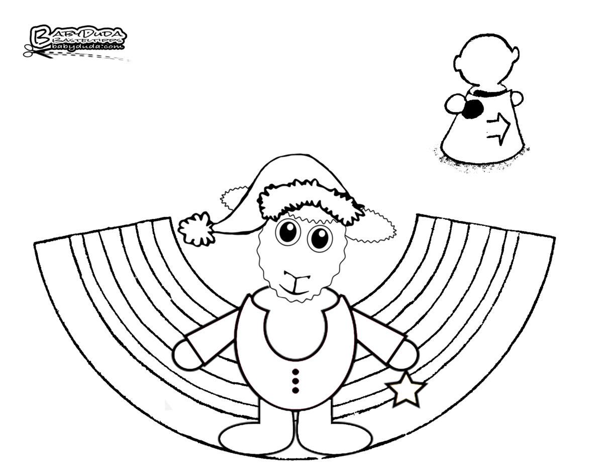 Tischaufsteller Weihnachtsdeko